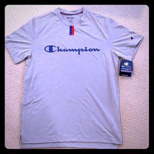 "Men's Champion ""Double Dry"" Logo T-Shirt"